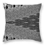 Zebra Half-circle Throw Pillow