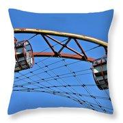 Zeche Zollverein Essen  Throw Pillow
