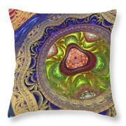Zen Meditation Throw Pillow