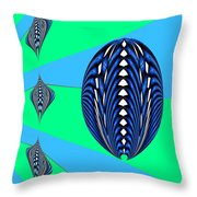 Zeon Mom And Kids Throw Pillow