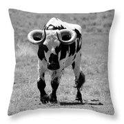 Zion Bull IIi Throw Pillow
