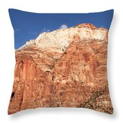 Zion Red Rock Throw Pillow
