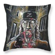 Zombie Tom Throw Pillow