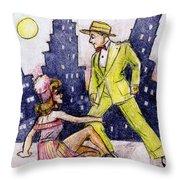 Zoot Suit Throw Pillow