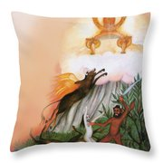 Zoroastrian Throw Pillow