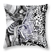 Zulu Dance - South Africa Throw Pillow