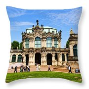 Zwinger Palace - Dresden Germany Throw Pillow