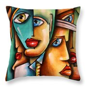 ' Conference Room ' Throw Pillow