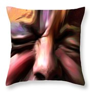 Disabled Vet Throw Pillow