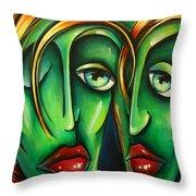 ' Twins ' Throw Pillow