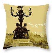 # 10 Paris France Throw Pillow
