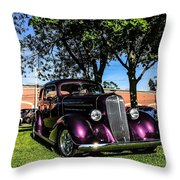 1939 Chevy Coupe Throw Pillow