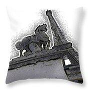 # 4 Paris France Throw Pillow