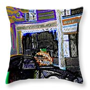 # 7 Paris France Throw Pillow