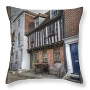 9 Church Square Throw Pillow