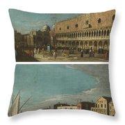 Active Venice Circa  Throw Pillow