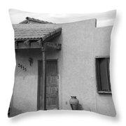 Adobe House  Throw Pillow