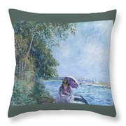 Afternoon In September Throw Pillow