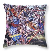 Agincourt The Impossible Victory 25 October 1415 Throw Pillow