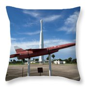 Air Force Museum At Cape Canaveral  Throw Pillow
