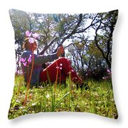 Dramatic View Point-1 Throw Pillow