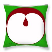 Apple Seed Throw Pillow
