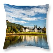 Ardgartan On The Banks Of Loch Long Throw Pillow