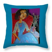 Aunt Elise Throw Pillow