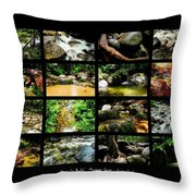 ' Australia Rocks ' Mossman Gorge - North Queensland Throw Pillow