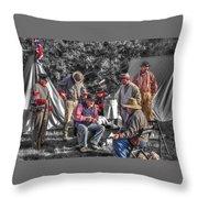 Battle Of Honey Springs V1 Throw Pillow