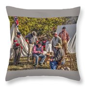 Battle Of Honey Springs V2 Throw Pillow