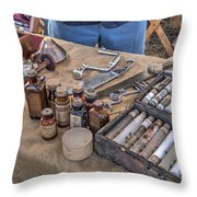Battle Of Honey Springs V4 Throw Pillow