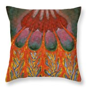 Becoming Rooted Throw Pillow