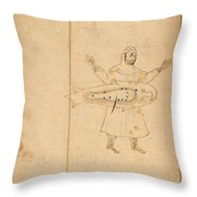 Book Of The Images Of The Fixed Stars Throw Pillow