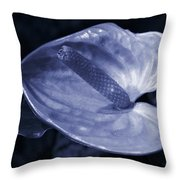 Boy Flower Throw Pillow