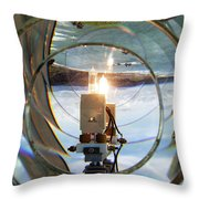 Cape Blanco Light Throw Pillow