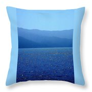 Catalina Island, #2 - Seascape, 1978 Throw Pillow