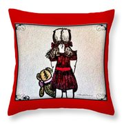 Childhood Lost Throw Pillow