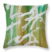 Chinese Numbers Throw Pillow