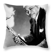Coleman Hawkins  Throw Pillow