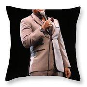 Comedian D.l. Hughley Throw Pillow
