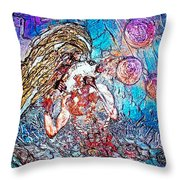 Cosmogony Ainu Throw Pillow