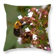 Cuckoo Bumblebee Throw Pillow