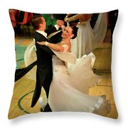 Dance Contest Nr 08 Throw Pillow