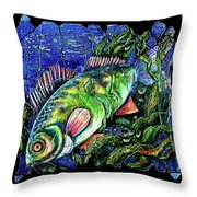 Dear Lord  Please Let Me Catch A Fish Throw Pillow