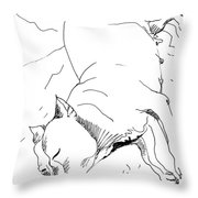 Dog Breed Throw Pillow