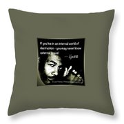External Peace - No. 2015 Throw Pillow