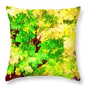 Fall Leaves 1 Throw Pillow