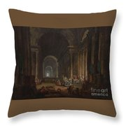 Finding Of The Laocoon Throw Pillow