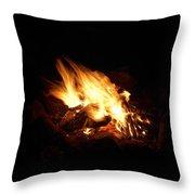 Fire 2 Throw Pillow